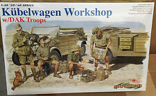 Dragon Cyber Hobby 1/35 Kubelwagen Workshop With Dak Troops #6338