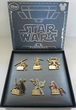Disney D23 Expo 2015 Star Wars Episode I - VI Darth Vader Boba Fett LE Pin Set
