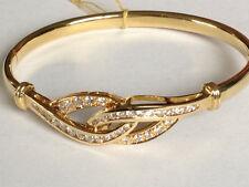 Diamond  Bracelet 18k gold Knot  1.58 carat round