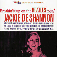 Breakin It Up On The Beatles Tour (Remsatered) by Jackie DeShannon CD