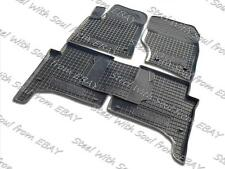 Fully Tailored Rubber / Car Floor Mats Carpet for VOLKSWAGEN TOUAREG 2002—2010