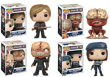 Funko Pop Games Resident Evil 4 Piece Set Nemesis Licker Leon Jill  NEW PREORDER