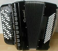 Button Accordion, 70-key/96-bass, 5-row, B-System, New. Musette Tuning