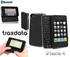 Traxdata teclado bluetooth y carcasa 2x1 para iphone 4