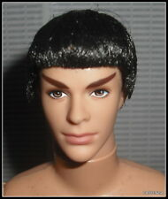 NUDE KEN MATTEL BARBIE STAR TREK SPOCK DOLL ARTICULATED MODEL MUSE FOR OOAK