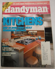 Handyman Magazine Kitchens How To Remodel July/August 1986 072715R