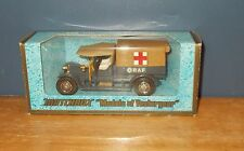 Matchbox Yesteryear Y13 Crossley RAF Tender Pale/Translucent Tan Canopy Issue 7