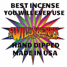 """100 Wild Berry Incense 11"""" Sticks Vickie's Top 20 Favorite Scents 5 of Each"""