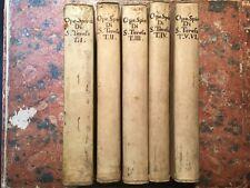 Opere spirituali  Santa Madre Teresa di Gesù, 6 volumi, Faenza Benedetti, 1789