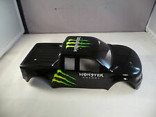 NEW RAPTOR BODY SHELL FOR TRAXXAS E-REVO 1/16 SCALE - GLOSS BLACK