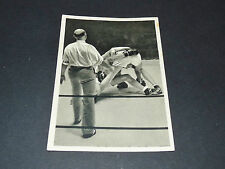LOS ANGELES 1932 J.O. OLYMPIC GAMES OLYMPIA BOXE BOXING CAMPE JENSEN