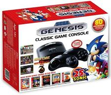 SEGA GENESIS CLASSIC GAME CONSOLE w/ 80 Built-In GAMES  NEW 2016 MODEL ATGAMES