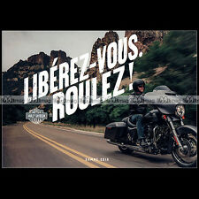 ★ HARLEY-DAVIDSON Gamme Touring 2016 ★ Catalogue Moto French Edition PUB #BM289