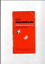 GUIA MICHELIN PARIS 1979