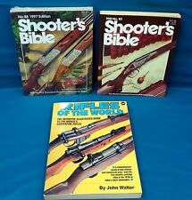 3 Book Lot; Rifles of the World; 2 Shooter's Bibles, No.82/No. 88