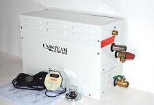 UNISTEAM 9KW SPA STEAM ROOM SHOWER BATH GENERATOR + CONTROL KIT+STEAM HEAD+VALVE