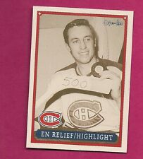 RARE 1992-93 OPC # 44 CANADIENS  BELIVEAU HIGHLIGHT  FANFEST LIMITED /5000 CARD