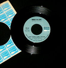 """NINO TEMPO APRIL STEVENS """"WINGS OF LOVE/Let It Be Me"""" WHITE WHALE 268 (1968) 45"""