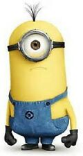 One Eye Despicable Me  IRON sew on BADGE patch embroidered ,cartoon patch,,