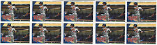 2010 Topps MLB Danny Valencia Minnesota Twins Rookie Card US-191 Lot of Ten