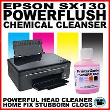 Epson Stylus Sx130 cabeza limpiador, Boquilla Limpiador, cabezal de impresión Desatascador Destapar it!