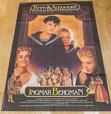 Affiche de cinéma - FANNY ET ALEXANDRE de INGMAR BERGMAN