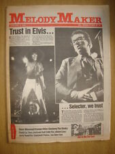 MELODY MAKER 1981 JAN 3 COSTELLO SELECTOR IAN DURY YES