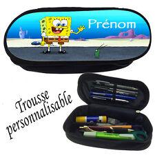 Trousse à crayons BOB EPONGE V1  personnalisée avec prénom