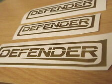Land Rover Defender rear panel sticker + extra's