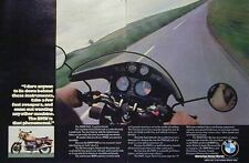 BMW R90S R90 S 2 Page Motorcycle Ad 1975 R90S