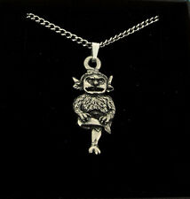 Pewter Pendant Necklace Gift, Lincoln Imp Design