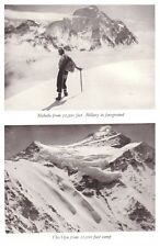1953 Cho Oyu Expedition -  ERIC SHIPTON - MOUNT EVEREST HIMALAYA - With Map - 06
