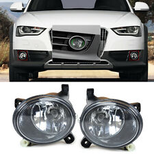 Pair Front Halegon Fog Light Fog Lamp 8T0941699B/8T0941700B for Audi A4 A6 A5 Q5