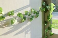 "5x 90"" Grape Leaf Vines Artificial Ivy Hanging Home Party Wall Garland Decor"
