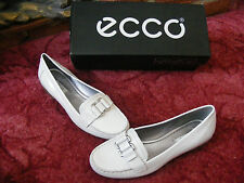 New Womens Ladies Girls ECCO INDIGA White Shoes UK 6 EU 39 US 8-8.5 1/2