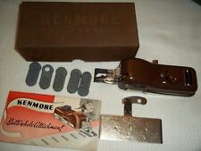 Vintage Kenmore Sewing Machine Buttonholer Attachment with instructions
