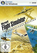 Microsoft Flight Simulator X 10 - Deluxe / Professional Edition - PC Game *NEU*