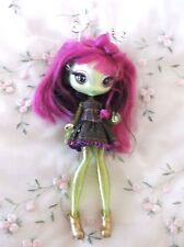 "Novi Stars Doll  MGA   Light Up Glow in the Dark Alie Lectric 7"" Green   Purple"