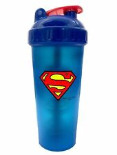 PerfectShaker SUPERMAN Blender Shaker Cup Bottle LARGE 28 oz SUPER HERO MIXER