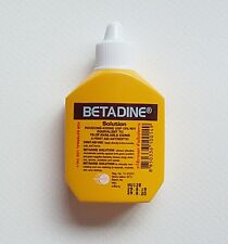 BETADINE Solution CUTS WOUND BURNS 30ml Povidone Iodine FIRST AID ANTISEPTIC