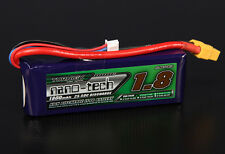 Turnigy Nano-Tech 1800mAh 2S 7.4V 25C-50C FPV LiPo Battery Pack XT60 US Seller