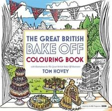 Great British Bake off Colouring Book: w Illustrations From The Series Paperback
