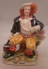 Staffordshire poterie figure-will watch-passeur/pirate-taille moyenne 22cm