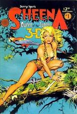 SHEENA QUEEN OF THE JUNGLE ~ 3-D ~ COMIC BOOK ~ JERRY IGER ~ #1