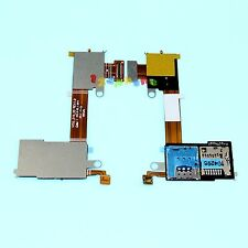 SIM + SD SLOT READER TRAY HOLDER FLEX CABLE FOR SONY XPERIA M2 D2303 D2305 D2306
