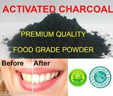 PREMIUM ACTIVATED CHARCOAL POWDER FOOD GRADE TEETH WHITENING CARBON 50 g