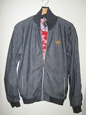 Adidas materials of the world japon zip denim jacket medium track top