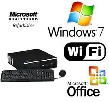 HP ELITE 8100 FAST CORE i5 WINDOWS 7 PRO WiFi DESKTOP PC 8GB RAM 1TB HDMI GAMING