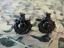Royal Marines (dark) Cuff Links RM