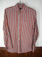 vtg Paul Smith London Dress Shirt striped spread collar sz EU 38 US 15